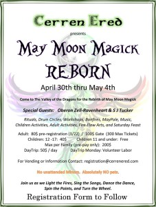 Cosby, TN: May Moon Magick Festival @ Cerren Ered Campground | Cosby | Tennessee | United States