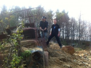 Lost Boys at the mine: Ryan and Mitch
