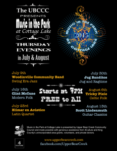 Woodinville, WA: Tricky Pixie at UBCCC's Music in the Park Series @ Cottage Lake Park | Woodinville | Washington | United States