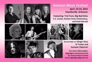 Fayetteville, AR: Sooj Performs at Amazon Music Festival 2016 @ The Event Place   Fayetteville   Arkansas   United States