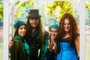 Tacoma, WA: Mythpunk Masquerade Concert with Sharon, Winter, Sooj & Betsy @ Crescent Moon Gifts | Tacoma | Washington | United States