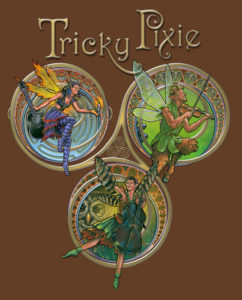 Kenmore, WA: Tricky Pixie's back! Special guest Leslie Hudson @ Kenmore Community Club | Kenmore | Washington | United States