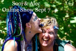 Sooj and Alec, online shared show @ Sooj's Concert Window channel