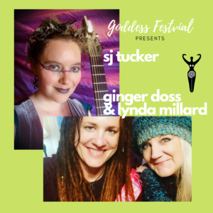 Online show: Goddess Festival Presents Sooj + Ginger Doss & Lynda Millard @ Online Concert Thing