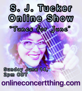 Solo Online Show: Tunes for June @ Online Concert Thing