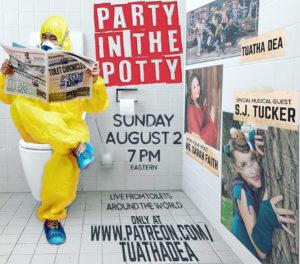 Sooj Performs as Special Guest on Tuatha Dea's Virtual Pub Crawl @ Tuatha Dea's Patreon Page