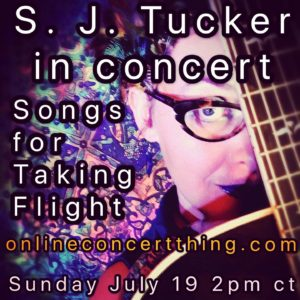 Online Solo Show: Songs For Taking Flight @ Online Concert Thing