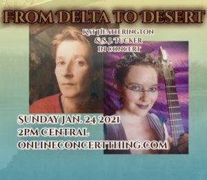 Online Show: From Delta to Desert with S. J. Tucker & Kat Heatherington @ Online Concert Thing