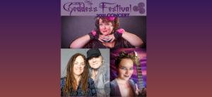 Online Show: Sooj Performs with Ginger Doss, Lynda Millard, and Renée Janski for GoddessFest 2021 @ Online Concert Thing